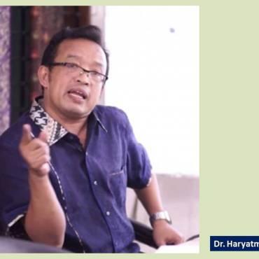 Dr. Haryatmoko