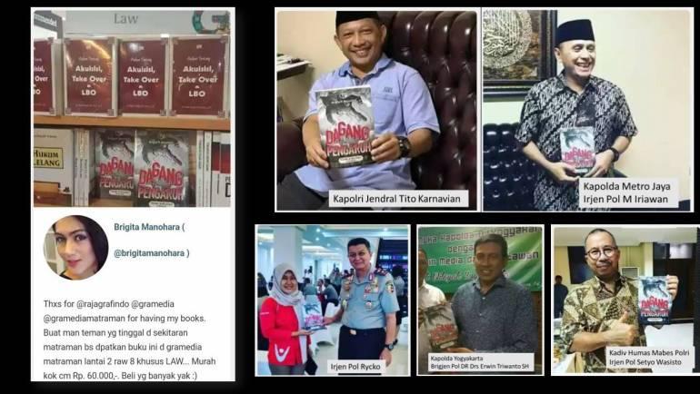 """Buku """"Dagang Pengaruh Trading In Influence Di Indonesia"""" banyak diminati semua kalangan"""