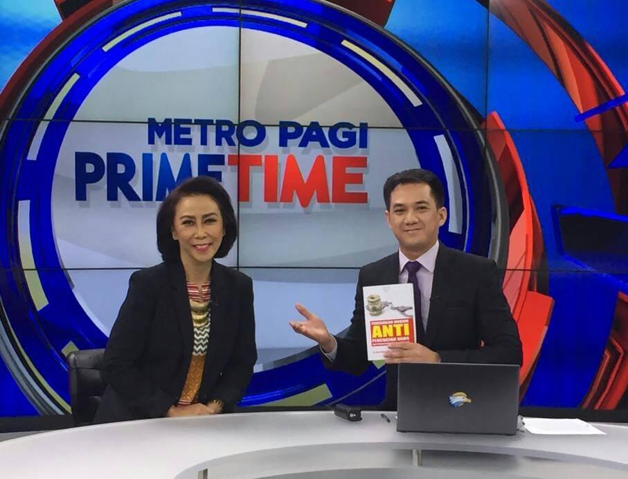 PT. RAJAGRAFINDO PERSADA di dalam acara METRO PAGI PRIME TIME