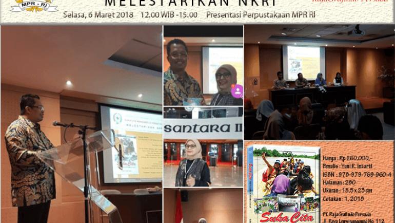 Peluncuran dan Bedah Buku Suka Cita Mengabdi di Perbatasan