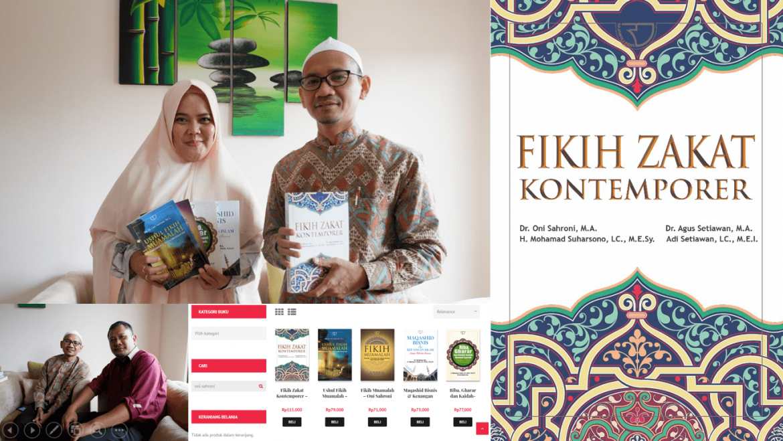 Kunjungan Penulis Dr. Oni Sahroni