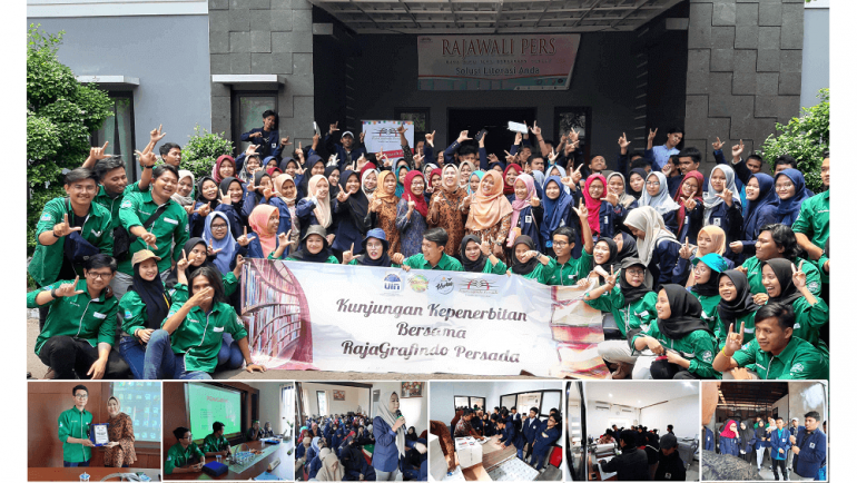 Rajagrafindo Persada terima kunjungan Mahasiswa UIN Jakarta